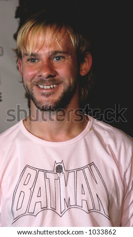 Dominic Monaghan star of the hit NBC TV show LOST. Filmed on location in Hawaii. - stock photo