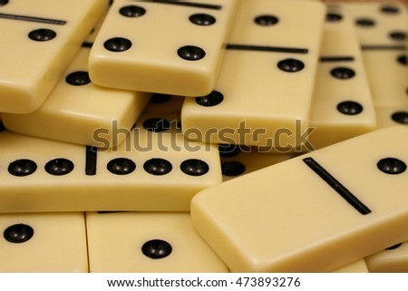 Dominoes Game Pieces