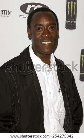 Don Cheadle attends the 2nd Annual Celebrity Poker Tournament to Benefit The Urban Health Institute held at the Playboy Mansion in Holmby Hills, California on April 28, 2007. - stock photo