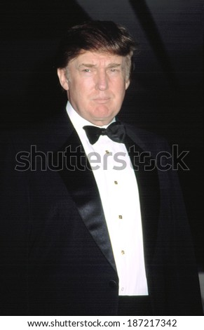 Donald Trump at the 24th Annual Sports Emmys, 4/21/2003, NYC - stock photo