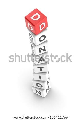 Donation - stock photo