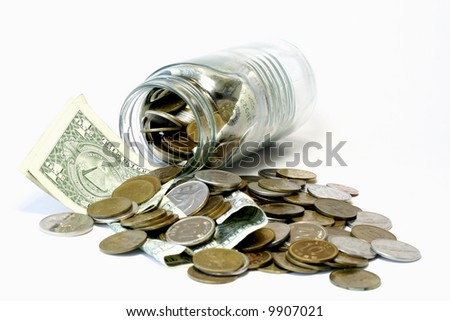 Donations - stock photo
