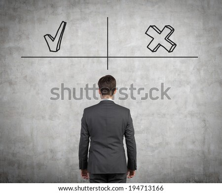 Done and not to do - stock photo