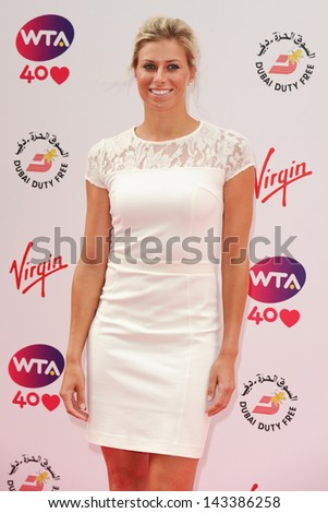 Donna Vekic arriving for the WTA Pre-Wimbledon Party 2013 at the Kensington Roof Gardens, London. 20/06/2013