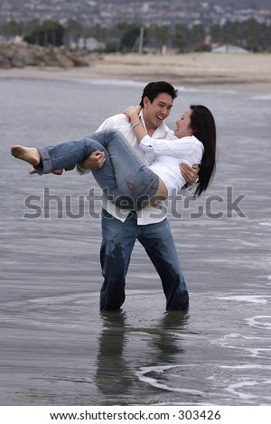 dont let me fall - stock photo