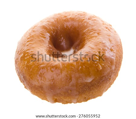 donuts, sugary donut on background - stock photo