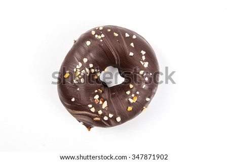 Donuts with chocolate