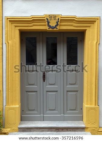 Door 1 - stock photo