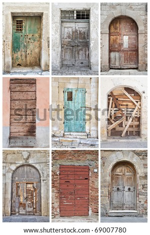 Door Collage.
