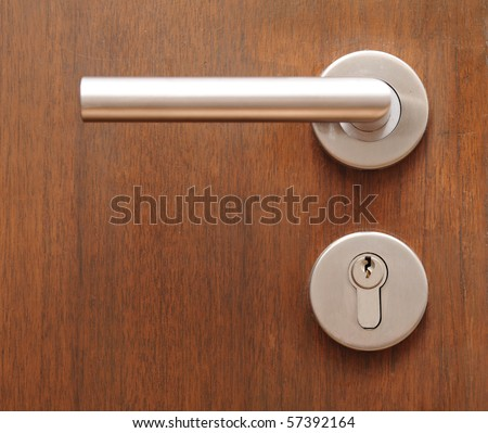 door element - stock photo