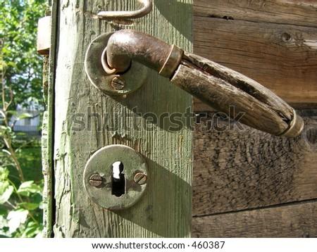 Door -handle - stock photo