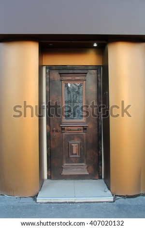 door,   house entrance