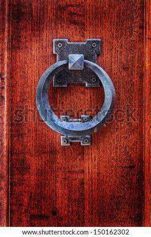 door knocker  - stock photo