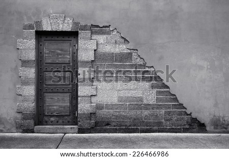 Door of an Historical Building