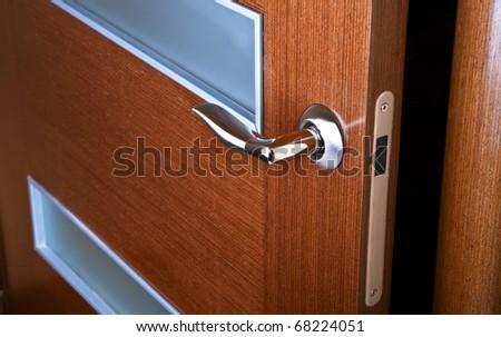 door opening - stock photo