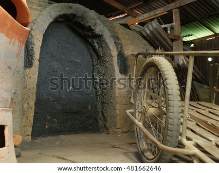 Door Pottery kiln