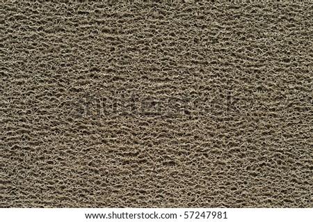 Doormat background or wallpaper - stock photo