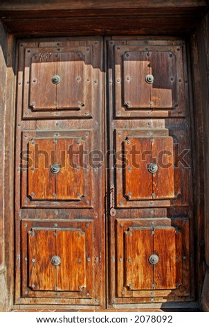Doors, Mission San Jose, Fremont, California