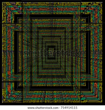 doors of perception optical illusion in african colors & Doors Perception Optical Illusion African Colors Stock Illustration ...