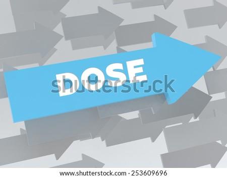 DOSE - stock photo
