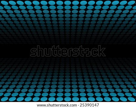 Dotted pattern, blue - stock photo