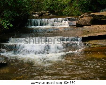 Double Stream - stock photo
