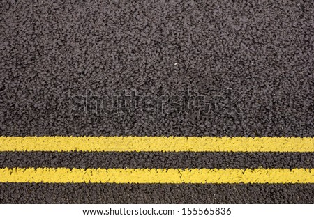 Double yellow lines