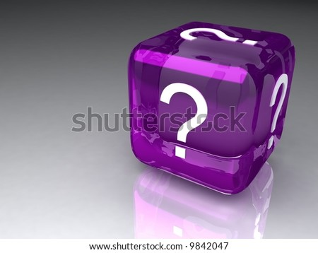 Doubts6 - stock photo