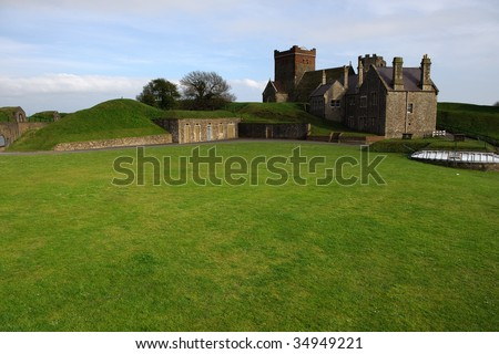 Dover Fort - stock photo