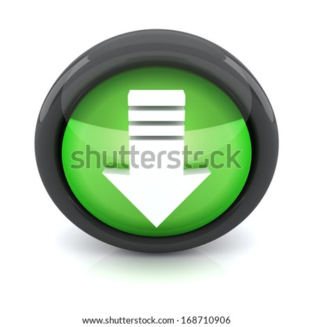 Download 3D icon - stock photo