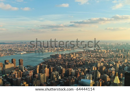 Downtown Manhattan (New-York,USA) - stock photo
