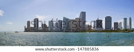 Downtown Miami - stock photo