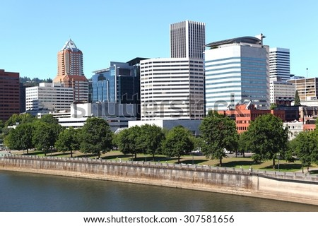 Downtown Portland, Oregon