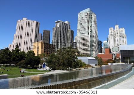Downtown San Francisco - stock photo