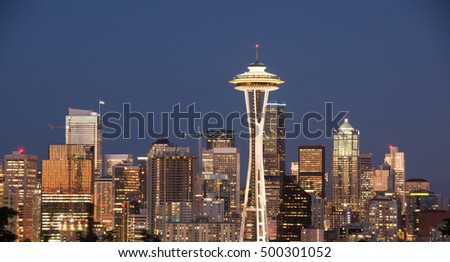 Downtown Seattle, Washington State, USA