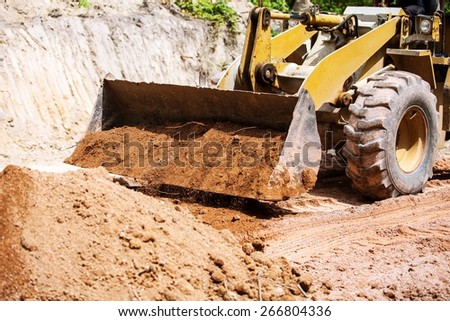 Dozer - stock photo