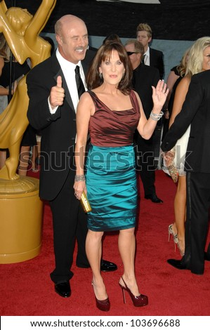 Dr. Phil McGraw and Robin McGraw at the 36th Annual Daytime Emmy Awards. Orpheum Theatre, Los Angeles, CA. 08-30-09