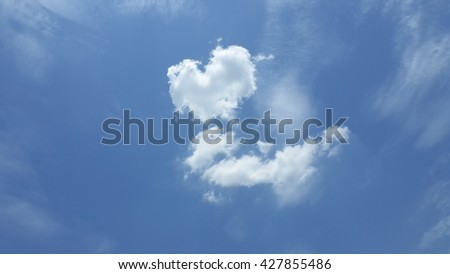 Dramatic clouds and blue sky.blue sky and clouds background.dramatic sky with clouds.