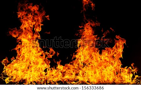 dramatic fire background