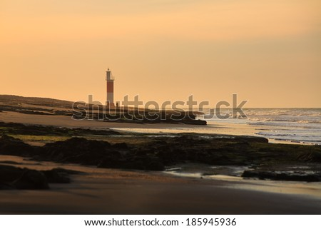 Dramatic Lighthouse Sunset