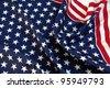 Drapeau US - stock photo