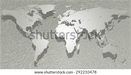 Draw map world simple format pattern stock illustration 292210478 draw a map of the world in a simple format for the pattern varies symbol gumiabroncs Gallery
