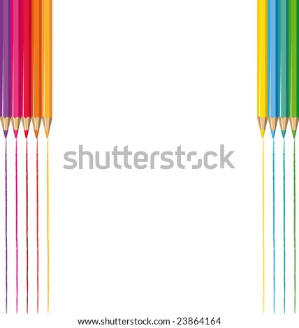 Drawing background - stock photo