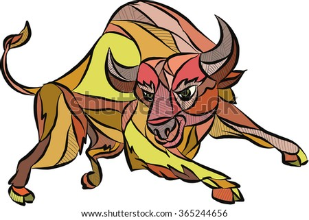 Charging Bull Stock Images, Royalty-Free Images & Vectors ...
