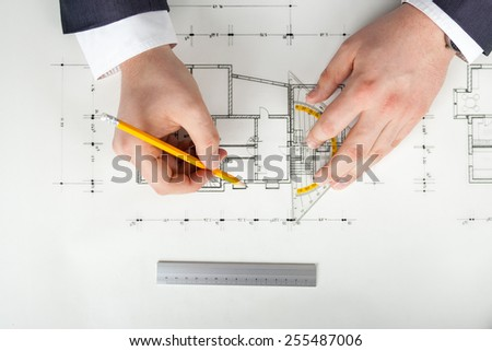 drawing sketches - stock photo