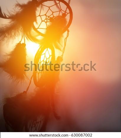 Dream Catcher In The Sun Dream Catcher Wind Blurred Sun Light Stock Photo 40 38