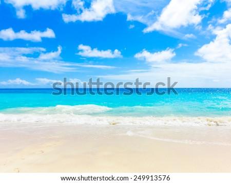Dream Summertime Bay  - stock photo