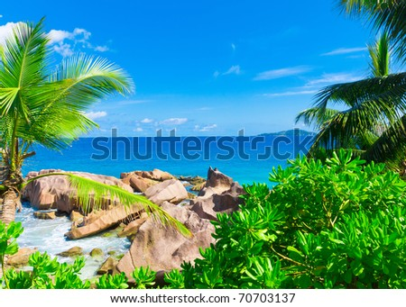 Dream Tranquility Bay - stock photo