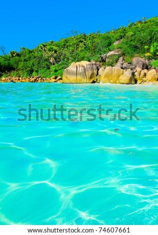 Dream Tranquility Bay - stock photo