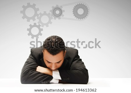 dreaming mechanism concept  - stock photo